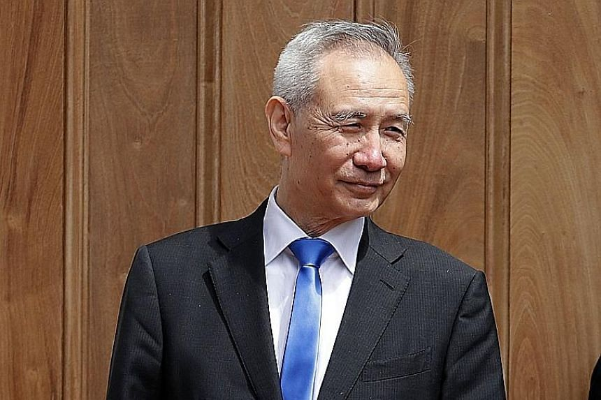 Vice-Premier Liu He is also China's lead negotiator in trade talks with the US.