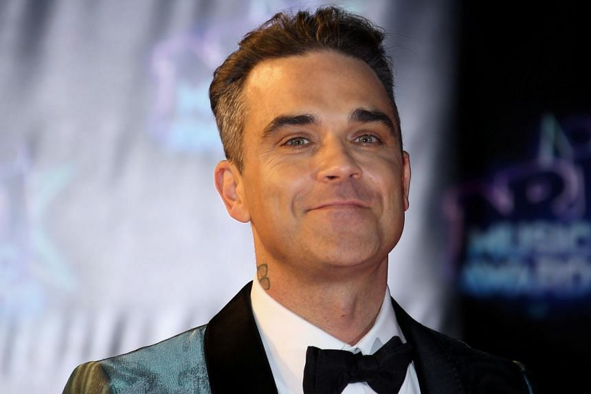Pop singer Robbie Williams mentored a choir from LMA on The X Factor and said he enjoyed the experience.