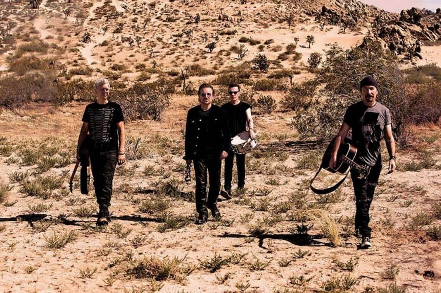 The show is part of a global tour celebrating the 30th anniversary of the band's seminal 1987 album, The Joshua Tree.
