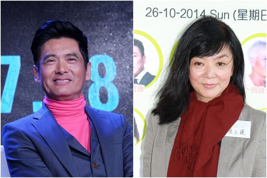 Chow Yun Fat and Idy Chan broke up in 1983 after a five-year romance.