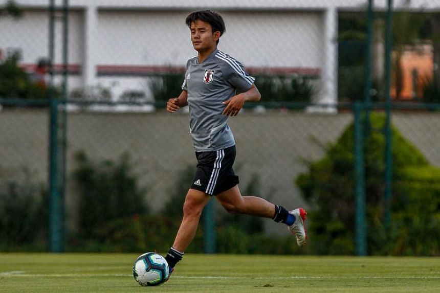 Takefusa Kubo, 18, joins from FC Tokyo and will play for Madrid's B team, Castilla, next season.
