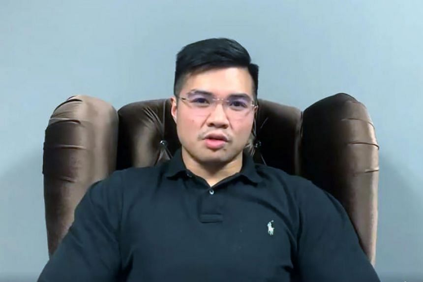 Mr Muhammad Haziq Abdul Aziz (above), a Sarawak Parti Keadilan Rakyat youth leader, has said that he is one of the men featured in the video clips.