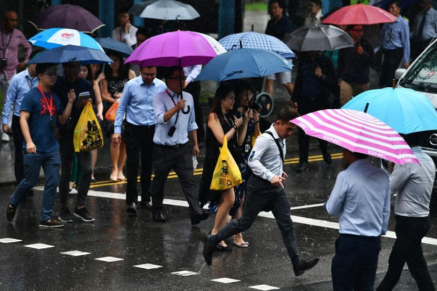 Overall, the rainfall for this month is forecast to be slightly above normal levels for most parts of Singapore.