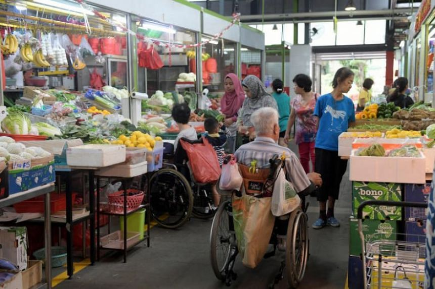 The Perception Survey of Hawker Centre Patrons found that wet markets are increasingly losing favour, with 39 per cent of respondents saying they had not been to a wet market last year.
