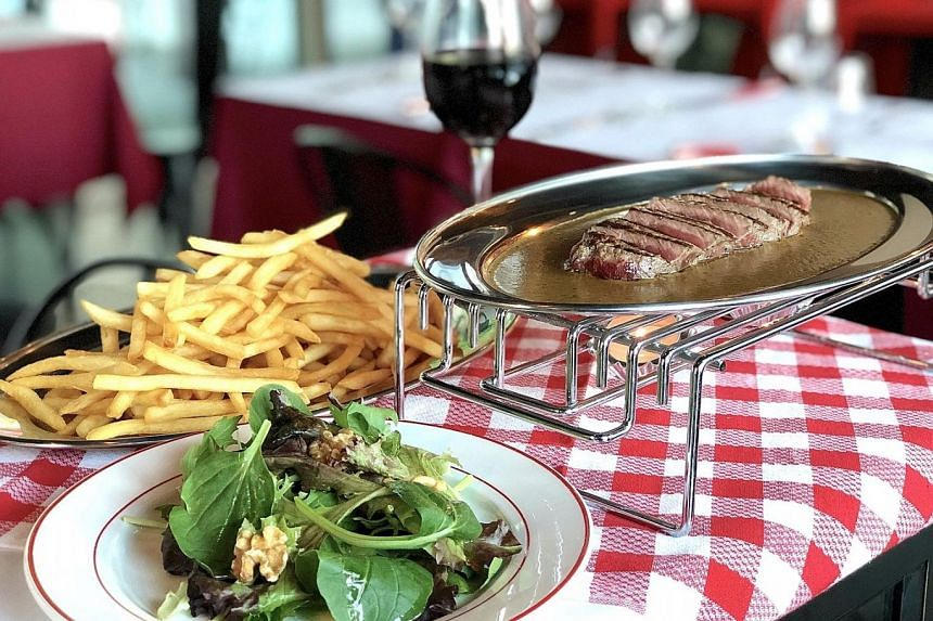 Trimmed L'Entrecote Steak from L'Entrecote Customs House Bar.