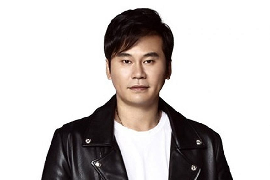 """Yang Hyun-suk, founder and chief producer of YG Entertainment, said he would """"step down from all positions and responsibilities"""" in the agency effective June 14, 2019."""