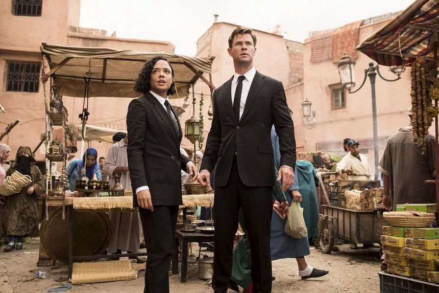 Tessa Thompson and Chris Hemsworth have strong chemistry in Men In Black: International, but they are let down by everything else.