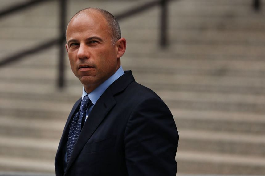 Celebrity attorney Michael Avenatti leaving a New York court house in May 2019.