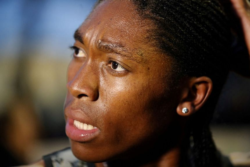 Organisers of the Morocco event had initially refused to allow tSemenya (above) to take part.
