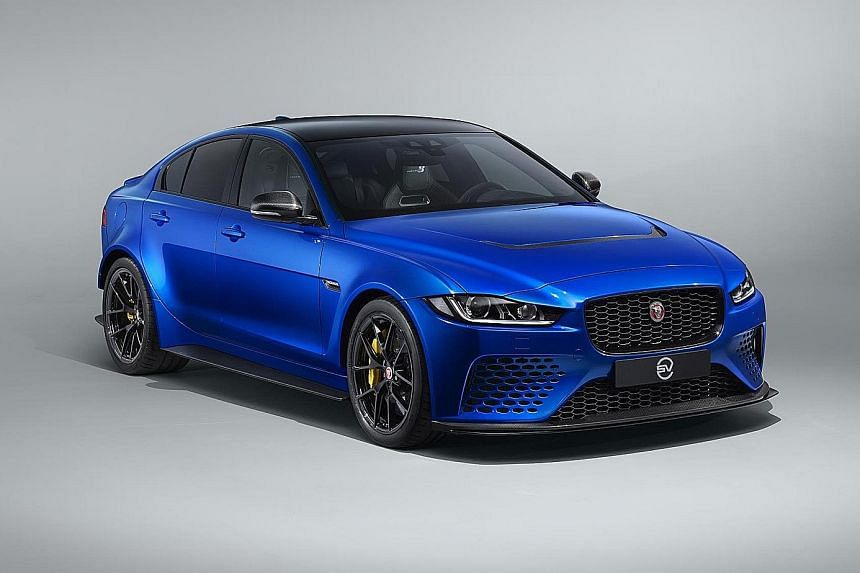 Jaguar has made a limited-run edition of its XE SV Project 8.