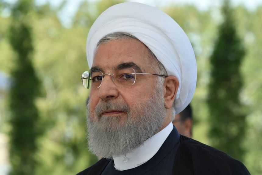 """Iranian President Hassan Rouhani said other signatories to the pact, which include Russia, China, Britain, France and Germany, need to show """"positive signals""""."""