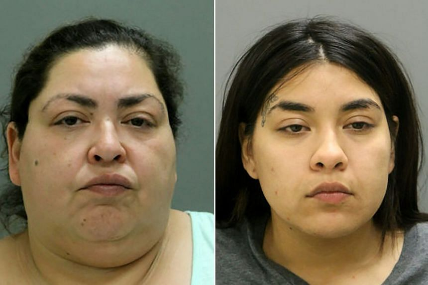 Police say Clarisa Figueroa (left) and her daughter Desiree (right) strangled a teen who was nine-months pregnant.