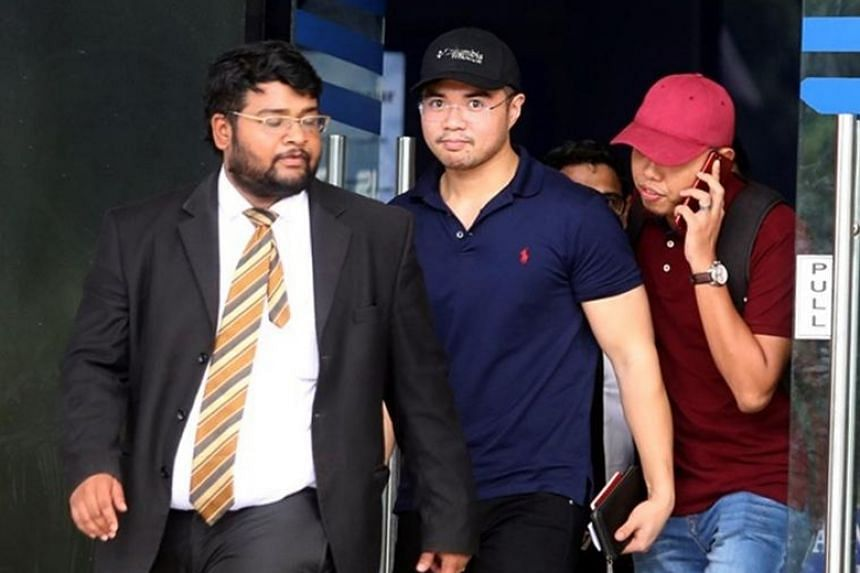 Haziq Aziz was released from custody at Dang Wangi police station in Kuala Lumpur at 5.45pm on June 15, 2019.