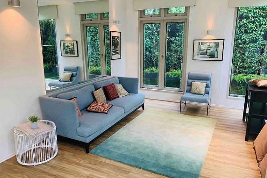 """A heritage bungalow in Grange Road that comes with a big courtyard, playground, garden and pool, with parking for up to five cars, is listed on Airbnb for over $1,000 a night. A visitor from Britain who stayed at the house wrote: """"The house is straig"""