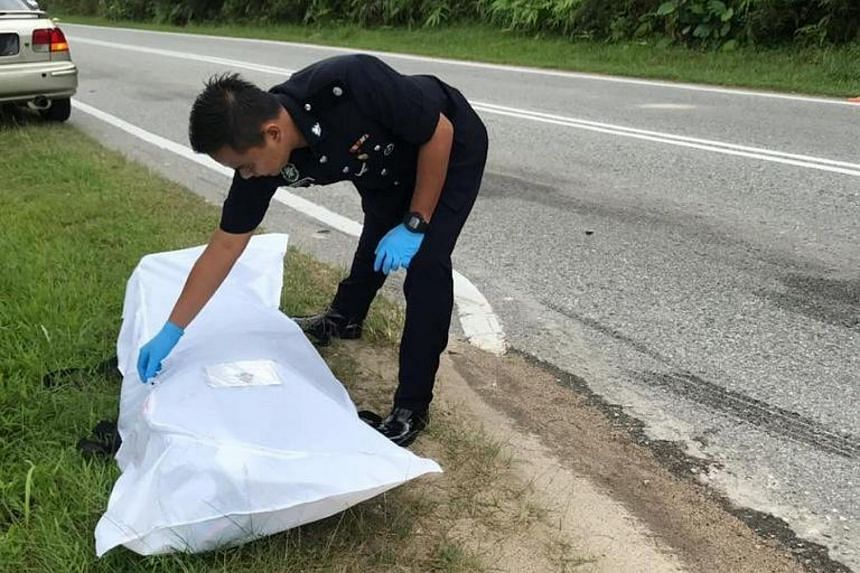 A Singaporean motorcyclist was killed after an accident with a van in Gelang Patah on June 16, 2019.