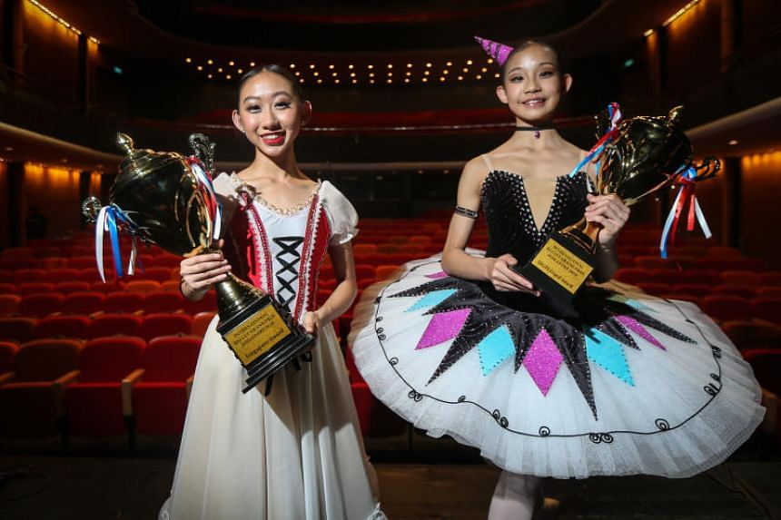 Malaysian dancer Cheyenne Lok (right) won the IBGPS Grand Award, and Singaporean Deborah Loh (left) took home the IBGPS Singapore Grand Award.