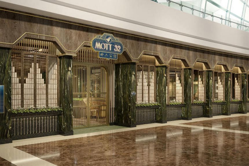 Mott 32, an upmarket Chinese restaurant from Hong Kong, will be opening at MBS towards the end of the year.