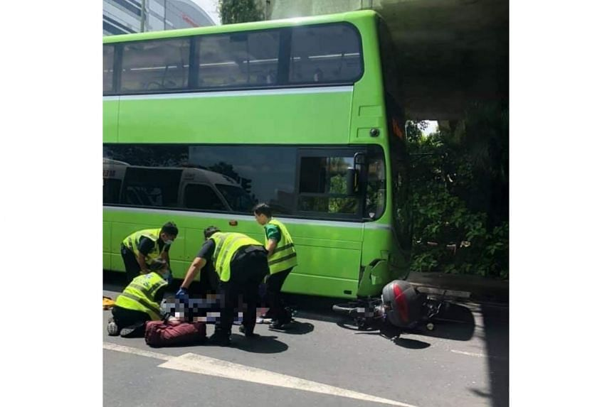 The motorcyclist, a 59-year-old man, died from his injuries at the hospital after the accident on June 15, 2019.