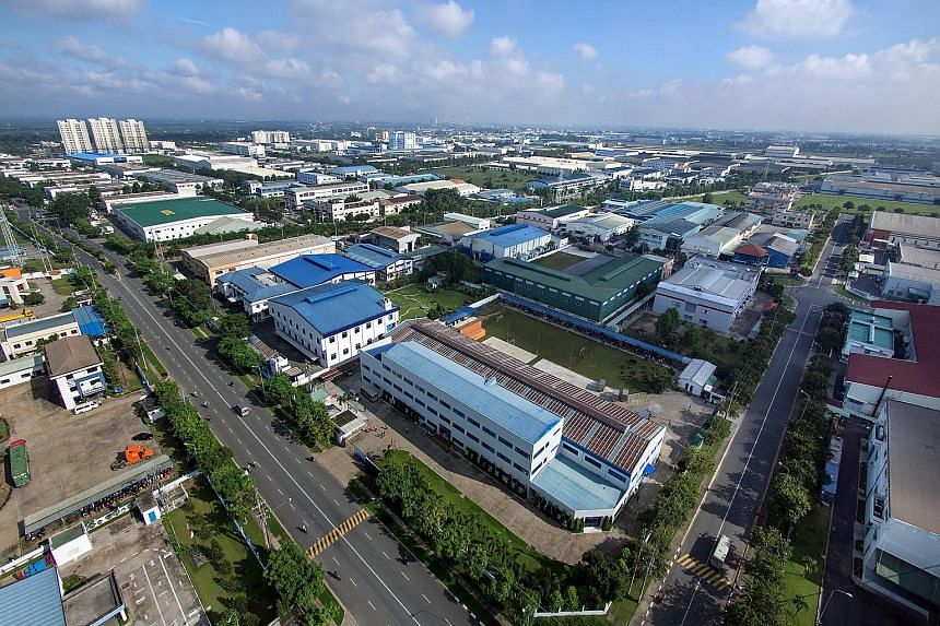 Vietnam Singapore Industrial Park drew US$1.3 billion (S$1.8 billion) more in investment than it did at the end of last year.