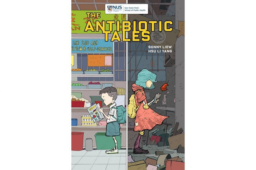 Award-winning Singaporean cartoonist Sonny Liew's next comic, The Antibiotic Tales, is the first in a planned series on public health issues.