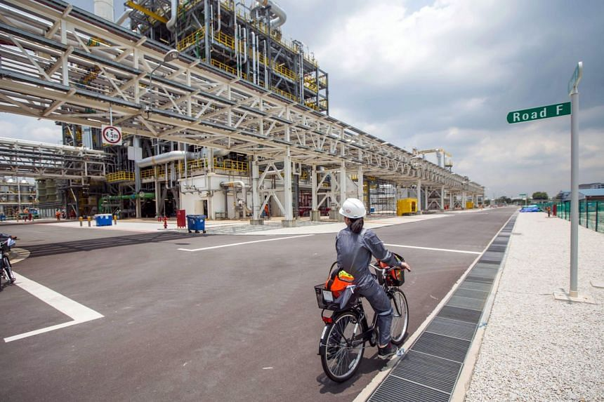 Evonik's second methionine plant in Jurong Island, which started operations on June 18, 2019.