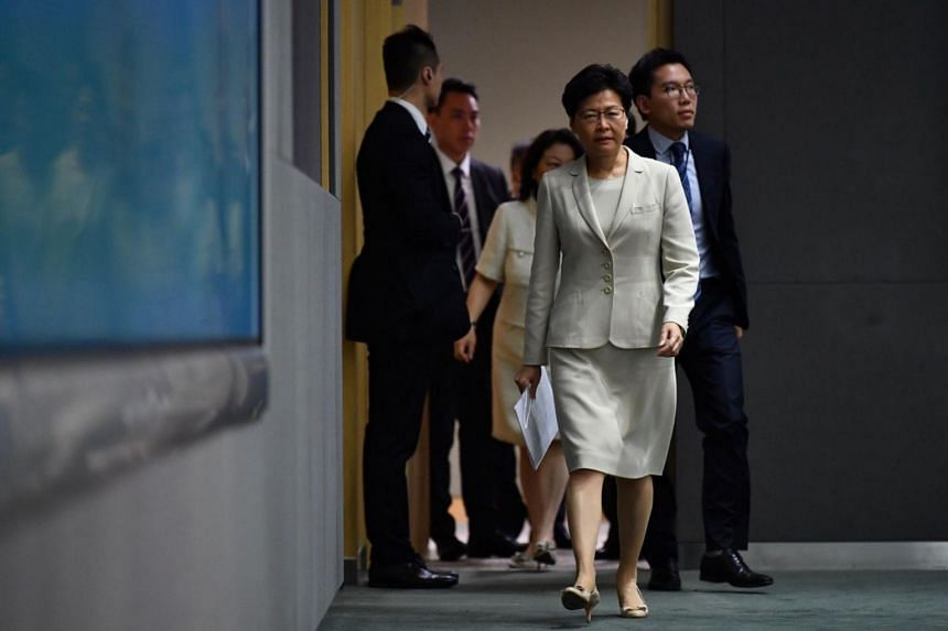 In a sign that Hong Kong Chief Executive Carrie Lam will not step down, she said that she and her team will work doubly hard in the next three years.