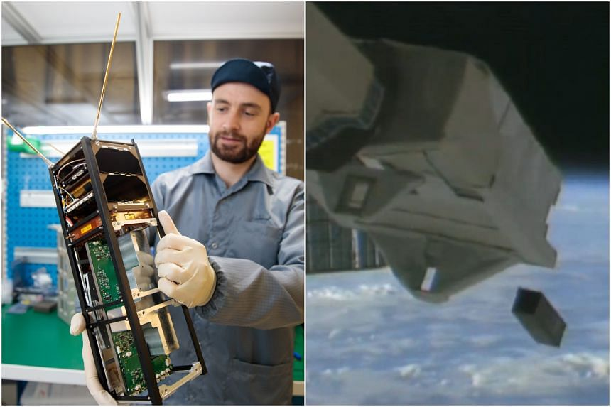 SpooQy-1 was launched by the Japan Aerospace Exploration Agency to the International Space Station in April 2019, and then deployed into orbit on June 17, 2019.