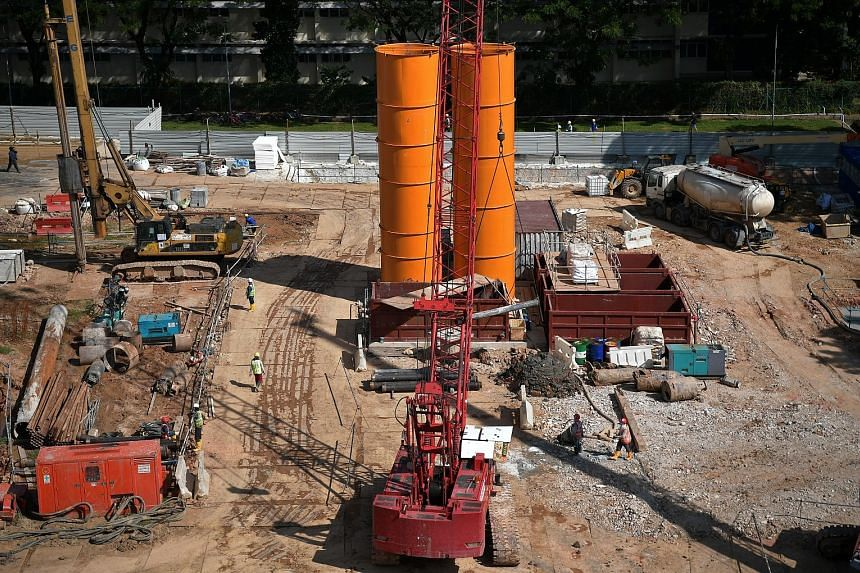 The Building and Construction Authority noted that public construction demand could come in at between $16.5 billion and $19.5 billion this year, with the total demand forecast to be between $27 billion and $32 billion. Upcoming projects include the