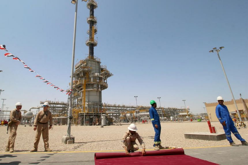 The West Qurna-1 oilfield, which is operated by ExxonMobil, near Basra, Iraq, on June 17, 2019.