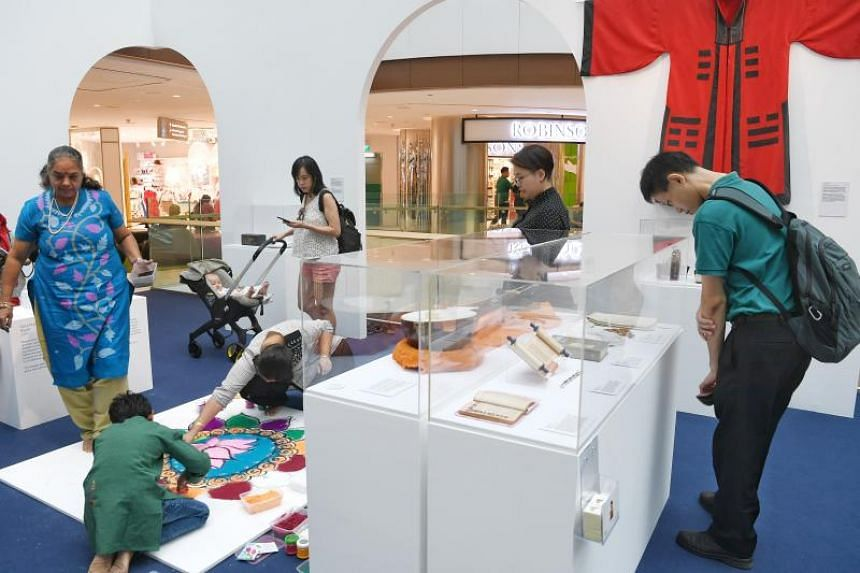 The Many Beliefs, One Future exhibition at Raffles City Shopping Centre aims to show the connections shared by Singapore's various faiths.