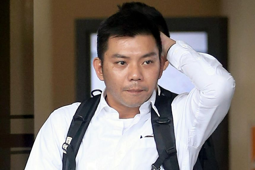 """Staff Sergeant Ng Meng Kiat said he gave instructions for another Singapore Civil Defence Force officer to enter the Tuas View Fire Station pump well to save Corporal Kok Yuen Chin because of """"instinct"""" when Cpl Kok did not resurface."""