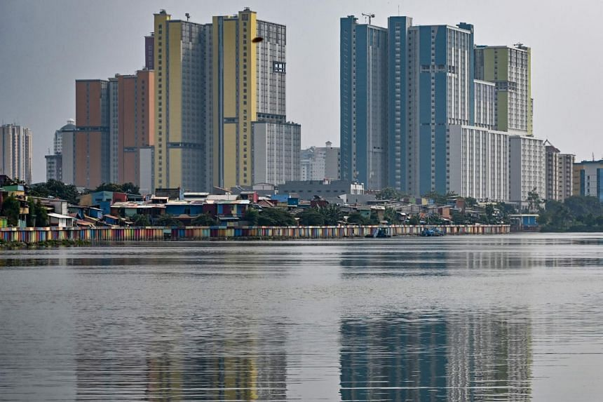 Indonesia's economy in the first quarter expanded 5.07 per cent from a year earlier, missing market expectations.