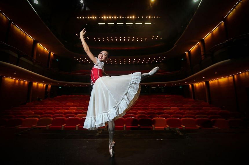 """Deborah Loh loves the """"liberating"""" feeling of being on stage - but adds that ballet training can be very stressful."""