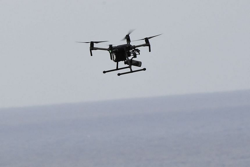 The primary danger posed by drones at airports is the potential they could get sucked into a plane's engine.