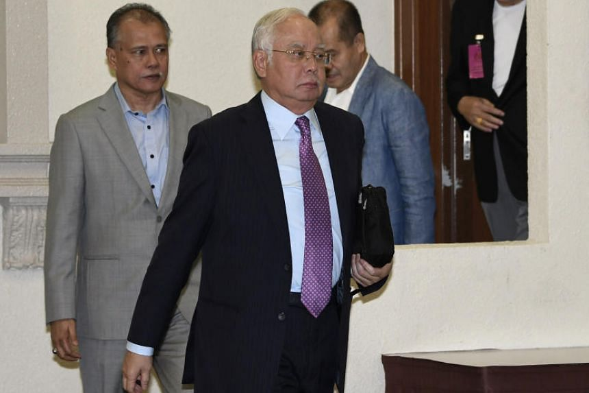 Malaysia ex-premier Najib Razak is facing seven charges in the High Court for criminal breach of trust, money laundering and abuse of power, in the transfer of RM42 million of funds into his private bank accounts.