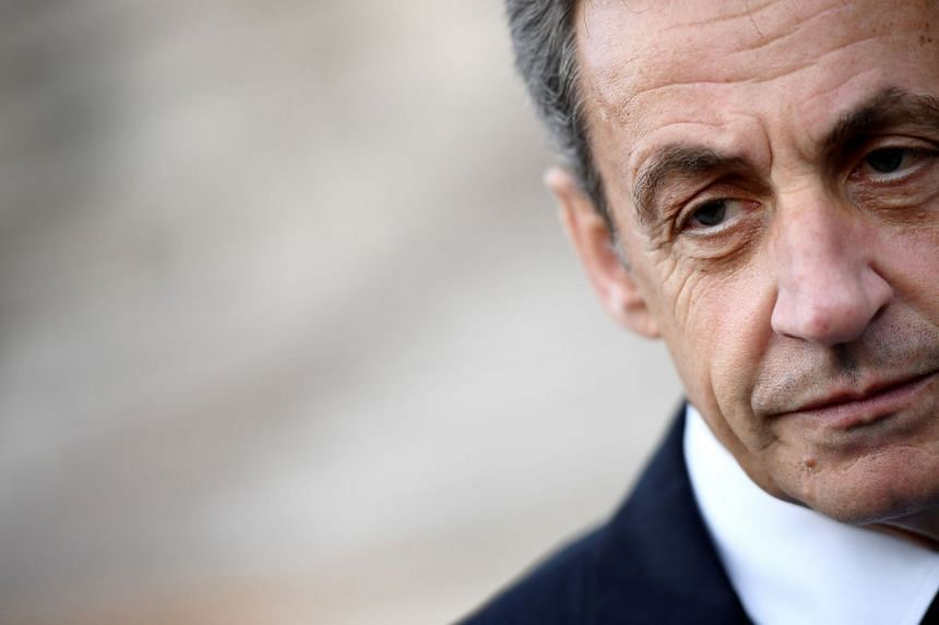 Sarkozy (above) is accused of offering to help a judge win a promotion in Monaco in return for leaked information.
