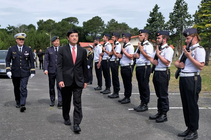 Senior Minister of State for Defence Heng Chee How was in France at the invitation of the French Ministry of the Armed Forces to attend the 53rd International Paris Air Show, which began on Monday.