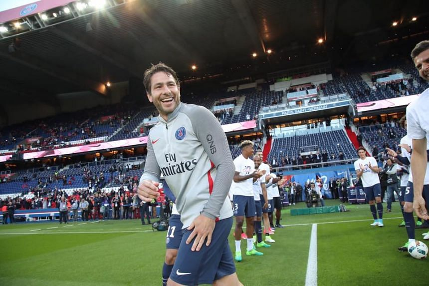 Former footballer Maxwell took up the position of technical co-ordinator at Paris Saint-Germain after retiring from playing in 2017, following a career which included spells at Barcelona, Inter Milan and Ajax.