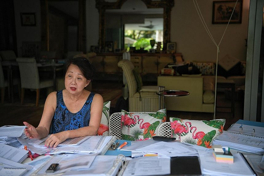 The Hour Glass co-founder Jannie Chan's debt to SME Care stems from a 2012 personal guarantee she gave it in return for a $500,000 loan to her firm JASC. ST PHOTO: MARK CHEONG