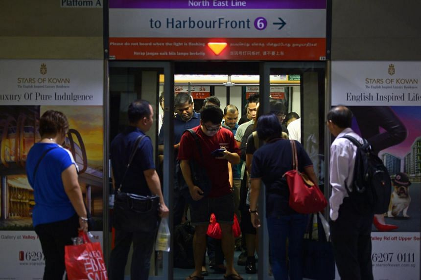 Commuters travelling between Serangoon and Punggol stations can switch to shuttle bus service, Shuttle 21, which will stop at designated bus stops or interchanges near affected stations.