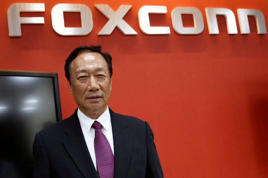 Foxconn Chairman Terry Gou told Reuters he planned to step down from Foxconn to pave the way for younger talent to move up the ranks.