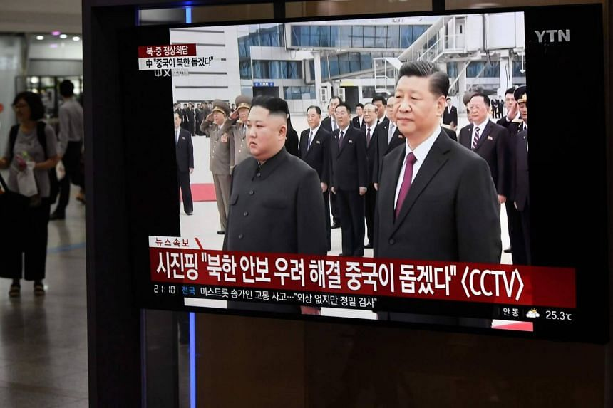 North Korean leader Kim Jong Un and Chinese President Xi Jinping reportedly agreed to have close strategic communication and deepen cooperation in various fields.