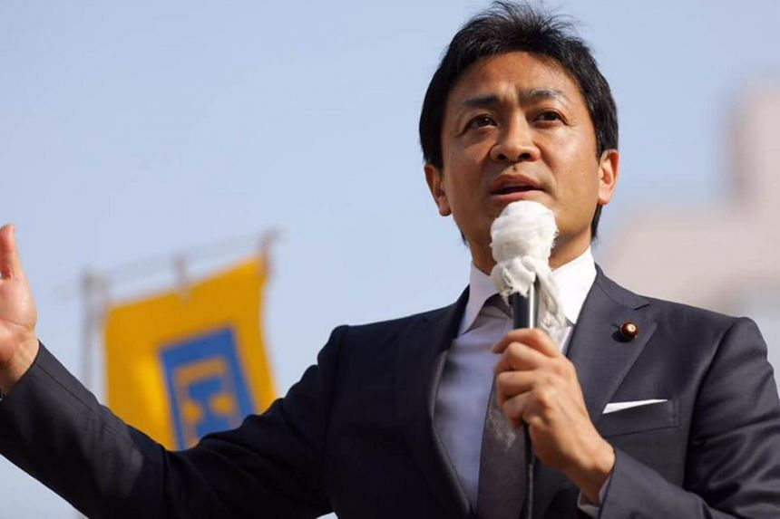 Politician Yuichiro Tamaki feared a future in which Japan's political sphere was divided into a permanent ruling bloc versus a permanent opposition camp.