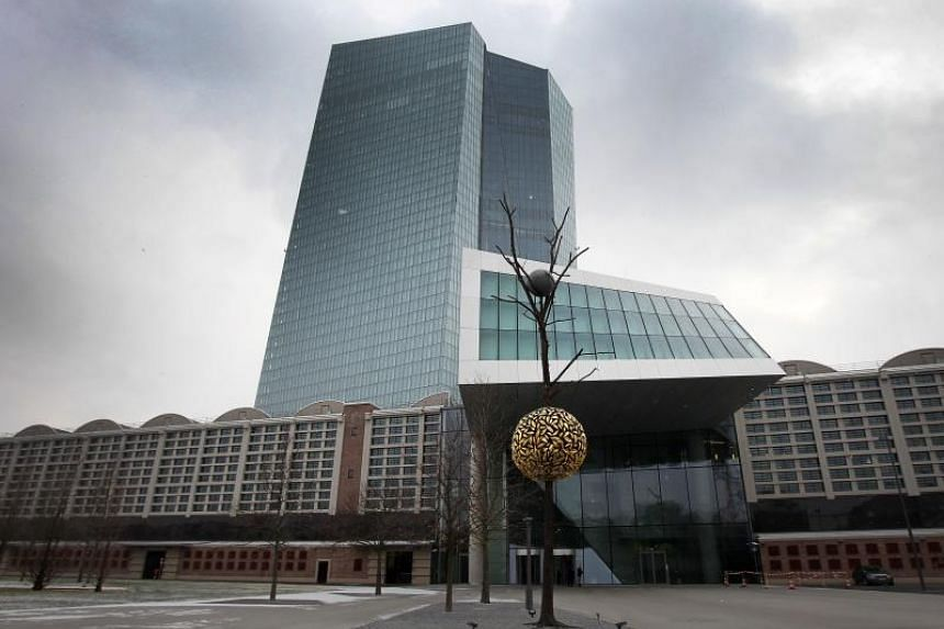 The European Central Bank in Frankfurt, Germany. Joining the club of government debt with 10-year yields below zero this week were Austria, Sweden and France.