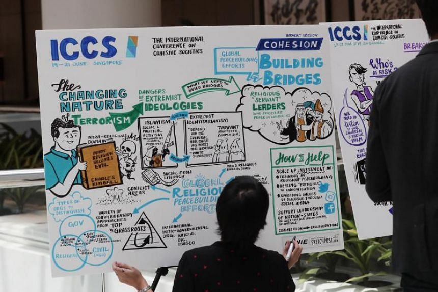 The three-day International Conference on Cohesive Societies brought together around 1,000 academics, officials and members of religious and civil society groups from close to 40 countries, to discuss issues surrounding faith, identity and cohesion.