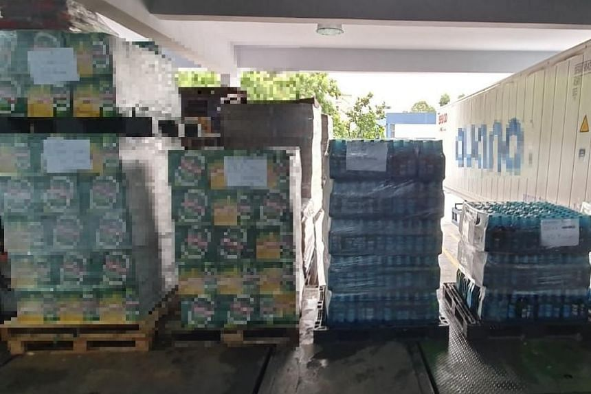 The officers discovered a total of 165 cartons and 1,575 bottles of duty-unpaid beer in the consignment.