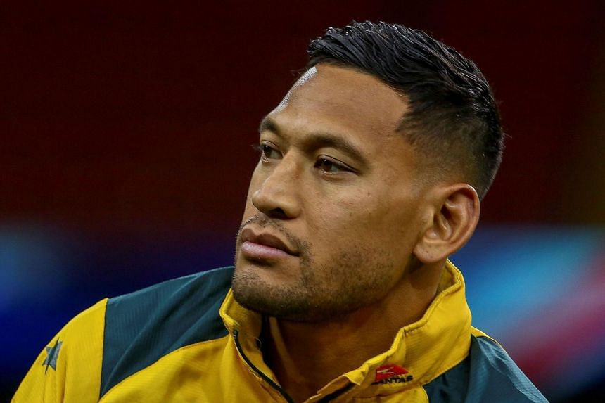 """Israel Folau was found guilty of a """"high-level breach"""" of Rugby Australia's code of conduct for an offensive social media post."""