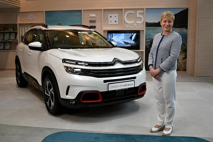 Ms Linda Jackson, who became the chief executive officer of Citroen in 2014, is the first Englishwoman to helm the French company.