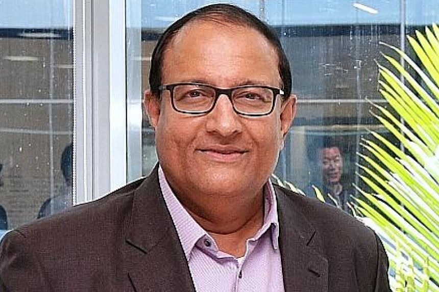 SINGAPORE'S MINISTER-IN-CHARGE OF TRADE RELATIONS S. ISWARAN