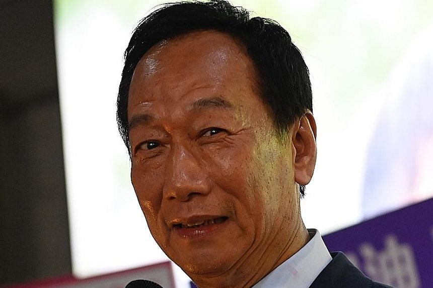 Taiwan's richest man Terry Gou has been at the helm of Foxconn for more than four decades.
